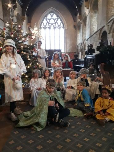 Messy Church Nativity 2018